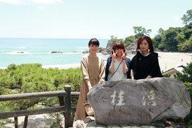 桂浜 女子集合写真