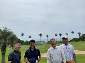 ゴルフ組の写真