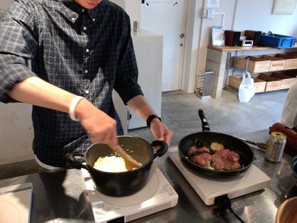 調理のようす画像